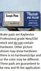 Disc Brake Pad Set-Element3; Metallic Rear Raybestos PGD508M