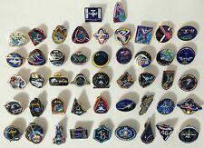 NASA Official International Space Station Launch Expedition Mission Pins (47)