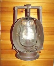 RARE EARLY 1900'S NEW YORK CENTRAL RAILROAD DIETZ ACME INSPECTOR LAMP LANTERN!!!