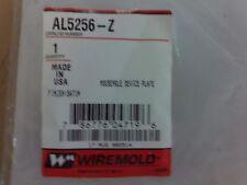 Wiremold Mousehole Device Plate Al5256-Z #1B-1040-D12