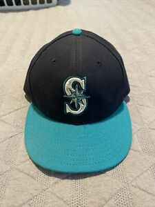 Seattle Mariners 59fifty Hat 7 1/4 Used