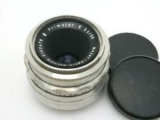 Primotar E f3,5 50mm lens No 3162478 Meyer Optik Görlitz M42 mount ss044