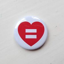 Marriage Equality - 25mm Button Badge - LGBT - Human/ Gay Rights