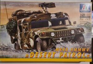Italeri 1/35 M998 HMMWV Desert Patrol Hummer Model Kit