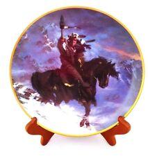 """Spirit of the West Wind"" Plate by Artist Hermon Adams-Western Heritage Museum"