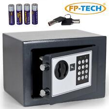 FP-TECH HSF-E170 Cassaforte Numerica Digitale da Incasso - Nero, 17 x 23 x 17cm