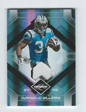 2009 LIMITED THREADS PRIME #14 DEANGELO WILLIAMS PATCH FOOTBALL CARD 43/50