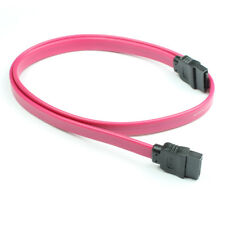 SATA DATA Straight Cable for Optical HDD SSD DVD BluRay Desktop PC NEW