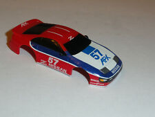 AFX TOMY #57 NISSAN HO SLOT CAR BODY ONLY COMES NOS CONDITION
