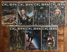 Caliban #1-7 1st Prints Wraparound Variant Complete Set Rare Garth Ennis Avatar