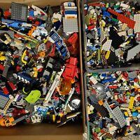 8 LBS bulk assorted LEGO (star wars, city, castle, etc)