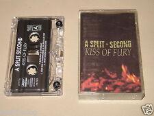 A SPLIT SECOND - Kiss Of Fury - MC Cassette official polish tape 1990