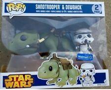 Sandtrooper & Dewback SUPER RARE Walmart Exclusive Figure