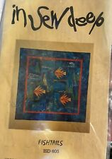 Fishtails by In Sew Deep Designs - Quilt pattern - Unused.