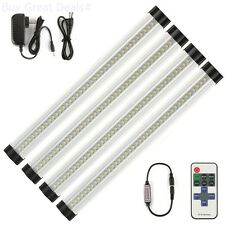 Under Cabinet Lighting Kit Kitchen Counter LED Light Bar Dimmable Closet Install