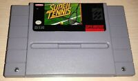 Super Tennis Super Nintendo SNES Vintage classic original retro game cartridge