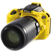 easyCover Nikon D5500 Silicone Camera Case Yellow EA-ECND5500Y FREE US SHIPPING