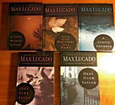 Max Lucado Lot of 5 Timeless Inspirational Classics - HC LN