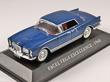 IXO diecast car 1:43  Facel Vega Model : Excellence UK - CCC001