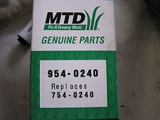 MTD Lawn Mower Belt Part 754-0240 and 954-0240