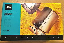 JBL Harman/Kardon Media 200 Ultra High Performance Multimedia Computer Lautsprecher PC