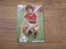 KEVIN MORAN (MANCHESTER UNITED) AUTOGRAPH PHOTO