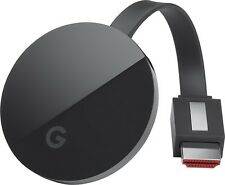 2016 Google Chromecast Ultra 4K Black Streaming Mobile Wireless TV G3 NEW Model