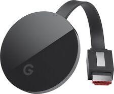2016 Google Chromecast Ultra 4K Black Streaming Mobile Wireless TV G3 NEW Model