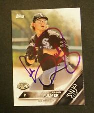 2016 Topps Pro Debut, AZL White Sox - CARSON FULMER - autographed
