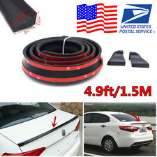 US Stock! 1.5M Universal Auto Car Rear Roof Trunk Spoiler Wing Quick Lip Sticker