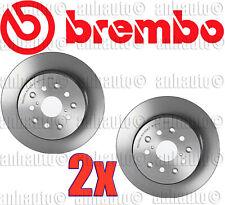 Set of 2 Brembo Rear Disc Brake Rotor for Lexus