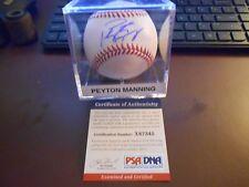 Peyton Manning Denver Broncos NFL Original Autographed Football ... 301a0674e