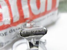3 pieces shimano chromed steel top tube brake cable clips , shimano 600 era