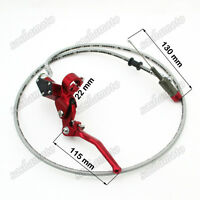 """35""""  Line Hydraulic Clutch Lever Master Cylinder Dirt Bike Motocross Motorcycle"""
