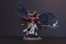 Pro painted Primarch Magnus the red chaos Daemon, thousand sons made to order