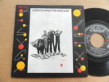 "DISQUE 45T DE WINGS  "" LISTEN TO WHAT THE MAN SAID """