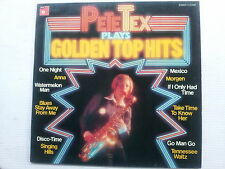 Pete Tex plays Golden Top Hits