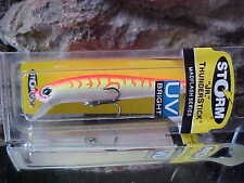 "Storm JM ""JR"" 3 1/2"" THUNDERSTICK Madflash UV BRIGHT JM653 for Walleye/Bass"