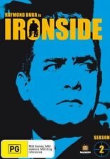 Ironside : Season 2 (DVD, 2007, 7-Disc Set) BRAND NEW REGION 4