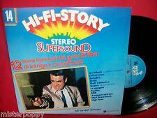 PAT STEVENS ORCHESTRA 12 temi da Film di Intrigo e Suspence OST LP 1981 ITALY