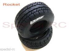 Louise RC 1/10 SC Rocket Tires Soft Compound w/ black inserts (2pcs) #L-T3154SI