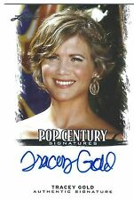 TRACEY GOLD  2012 LEAF POP CENTURY Signatures AUTO Autograph  GROWING PAINS