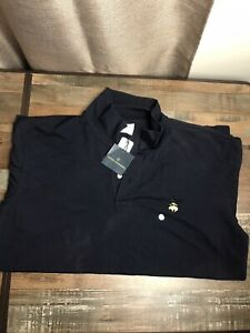 NWT BROOKS BROTHERS 1818 Performance Polo Shirt Original Fit Cotton Grn Sz L