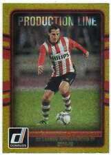 2016 Donruss Soccer Production Line Gold #26 Andres Guardado PSV Eindhoven