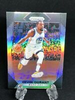 2017-18 Panini Prizm Kevin Durant Silver Prizm Parallel Card SP Warriors