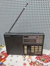 Sony Icf-7600D Am Fm Lw Mw Sw Pll Radio Receiver