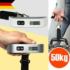 Digitale Kofferwaage bis 50 KG Gepäckwaage Reisewaage Handwaage Luggage Scale DE