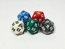 D20 Dice Bundle (5 Count) Magic The Gathering MTG