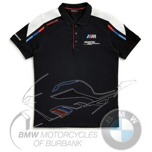 Motorsport Polo Shirt Men's Genuine BMW Motorrad Motorcycle 2020 STYLE