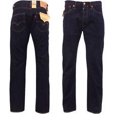 Levi's Indigo, Dark wash Mid Rise 30L Jeans for Men